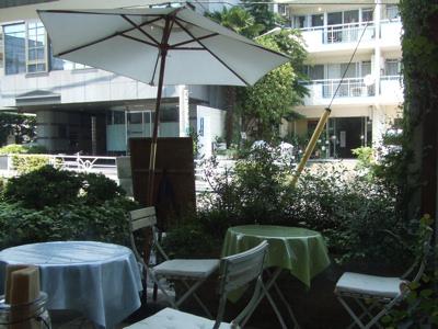Cafe AMANDINE(カフェ アマンディーヌ) テラス席