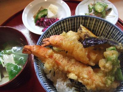 京の里 天丼