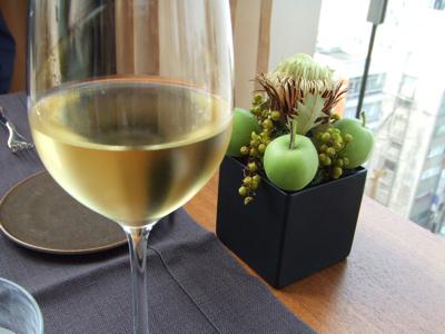 ブルガリ銀座タワー9F  イル・リストランテ ワイン