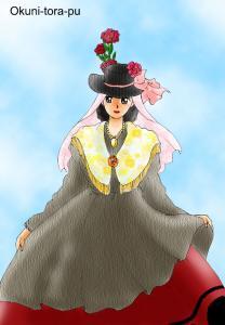 スペイン民族衣装~田舎風