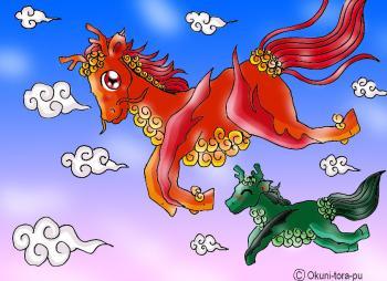 麒麟さん-中華風