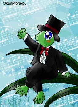 カエルさん~音楽家