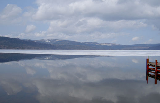 阿寒湖(*´・ω・`)b デスゥ♪