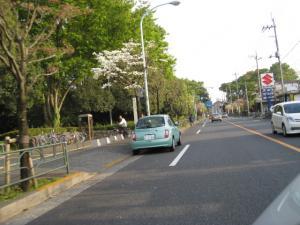 自転車通行帯駐車