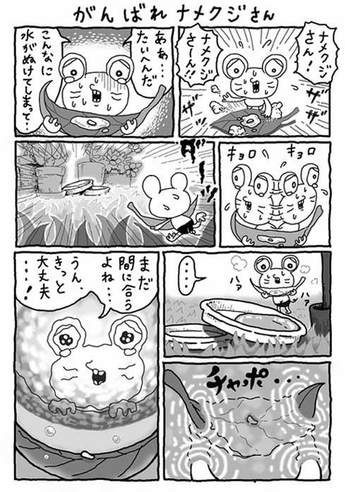 がんばれナメクジさん