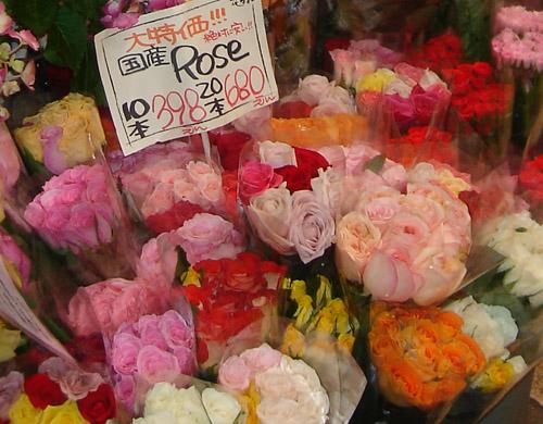 バラ束10本
