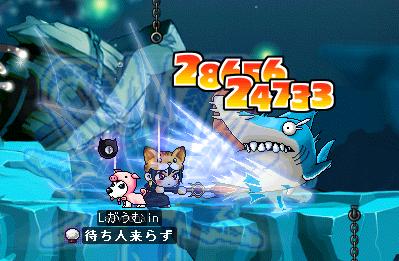 サメとハゼ