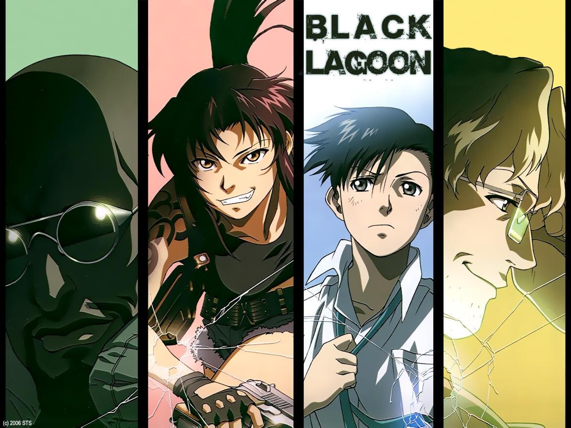 アニメ壁紙都市 は行 Black Lagoon 58