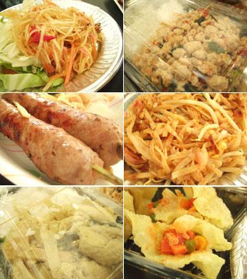 タイ屋台料理1