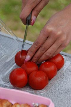 ぴかちゅうトマト