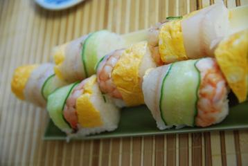 シロギスの手綱寿司