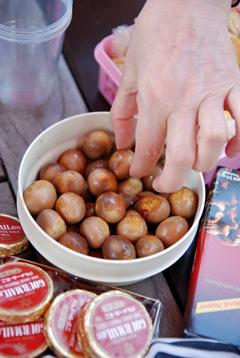 yukiちゃん作うずら卵