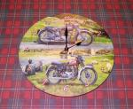 Triumph BSA clock