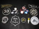 Rocker Jacket Badges and Patches