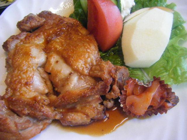 チキンの定食 照り焼き ¥1050