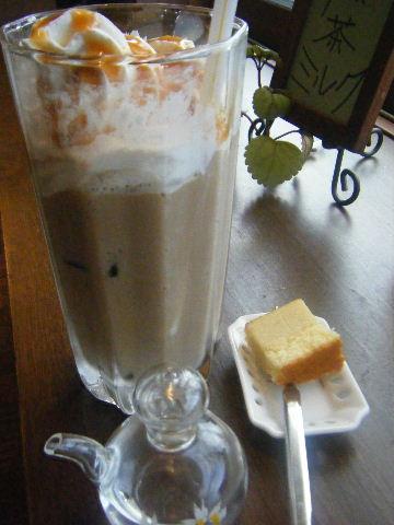 アイスキャラメルラテ ¥450