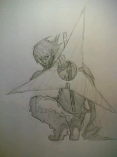 忍者は昔描いてたなぁ~