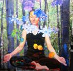 チベット油絵2