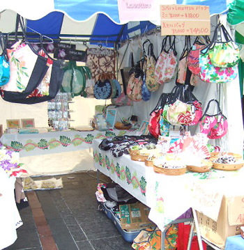 アロハサマーフェスティバル2008 大阪  出店の様子