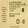 8June Fripp Eno Ticket