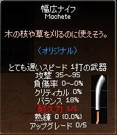幅広ナイフ
