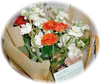 2007年の誕生日にLOUNIEよりいただいたお花です♪