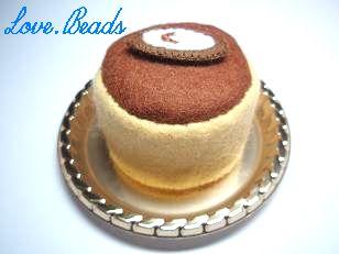 フェルトチーズケーキ
