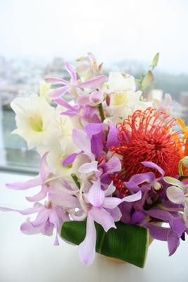 今週の社長室の花
