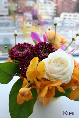 社長室の花