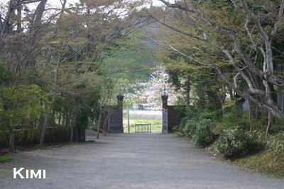 天鏡閣の入り口