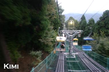 高尾山のリフト