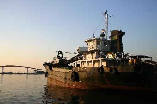 木更津の港