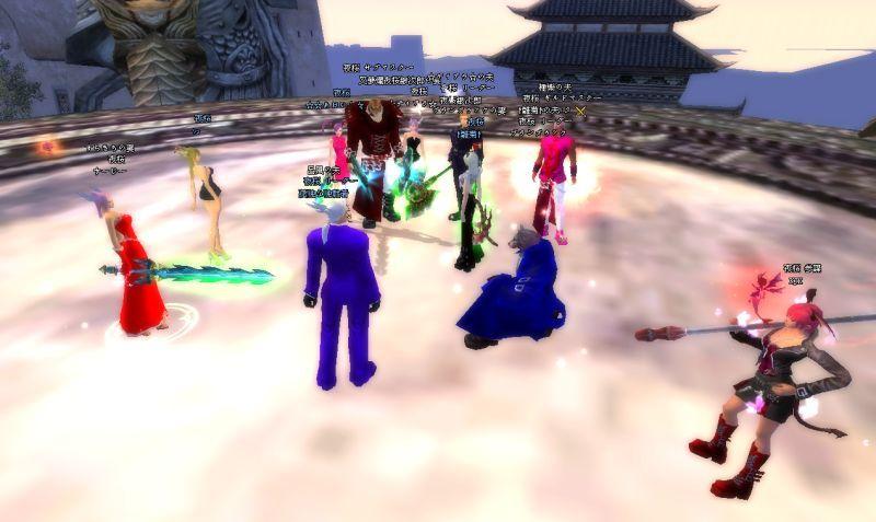 03-29 20-06 祖龍の城にぞくぞくと集まるGメン♪