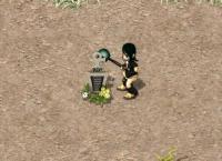 サラセンでお墓