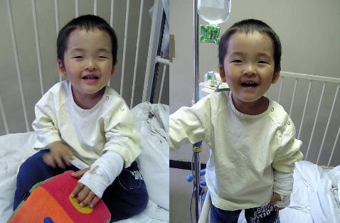 YOSHI入院①