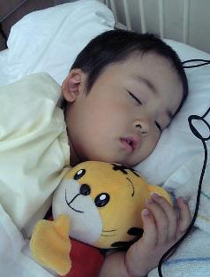 YOSHI入院②お熱高い