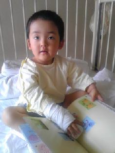 YOSHI入院③解熱後