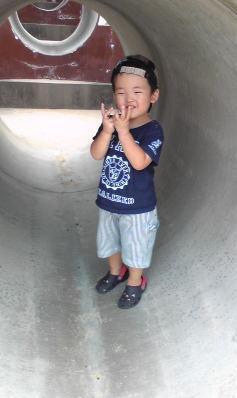 YOSHI久し振りな公園
