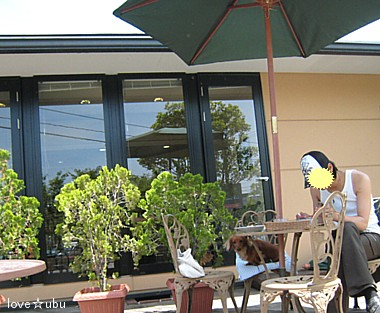 cafeで②