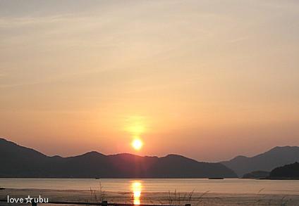 瀬戸内の夕日