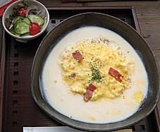 半熟卵のオムライス