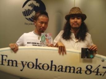 FM横浜でパシャ-リ!!!