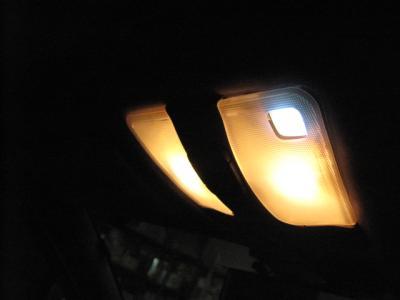 マップランプ点灯 1