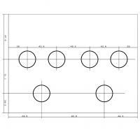 P.P.P用穴位置の図面