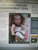 赤ちゃんヒール ニューヨークポスト