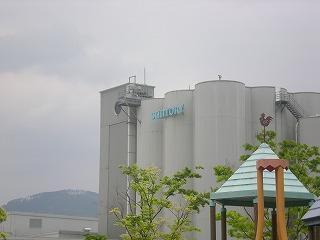 サントリービール工場です
