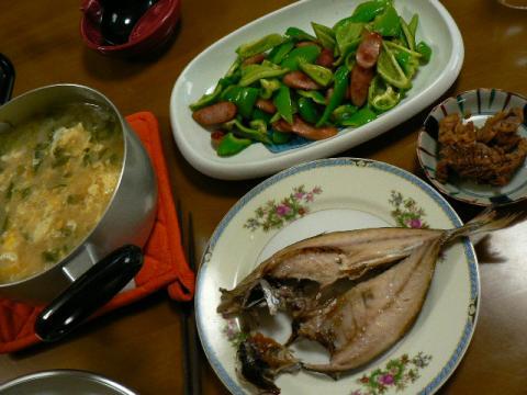 2008年6月1日夕食