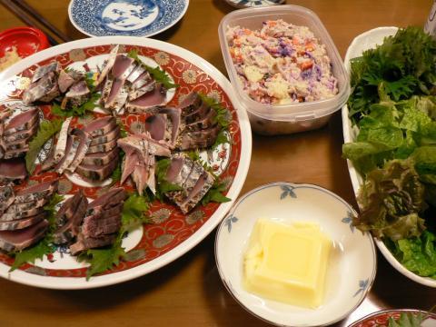 2008年4月1日夕食