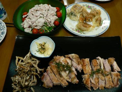 2008年8月3日夕食