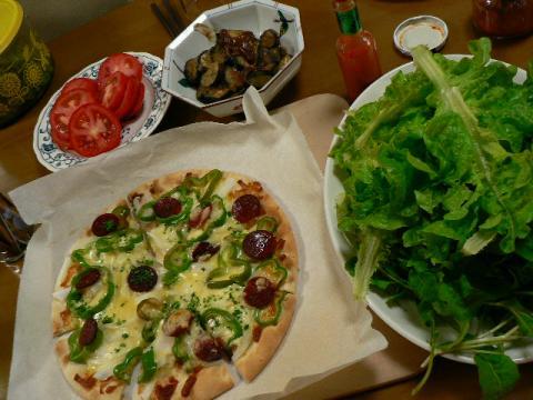 2008年5月3日夕食